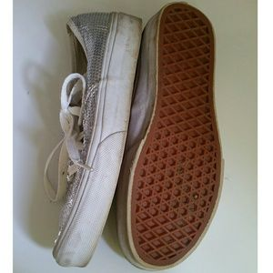 0815a4f5b74 Vans Shoes - Silver Sequence VANS